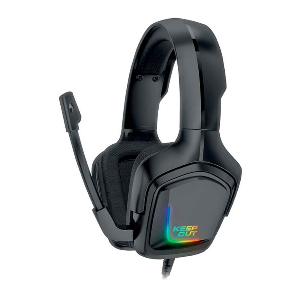 KEEPOUT GAMING HX601 RGB PC/PS4 AURICULAR + MIC (HX601)